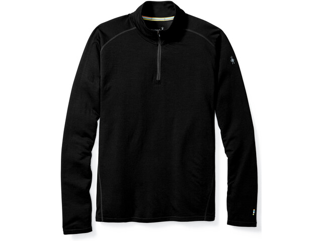 Smartwool Merino 150 1/4 Zip Baselayer Herren black
